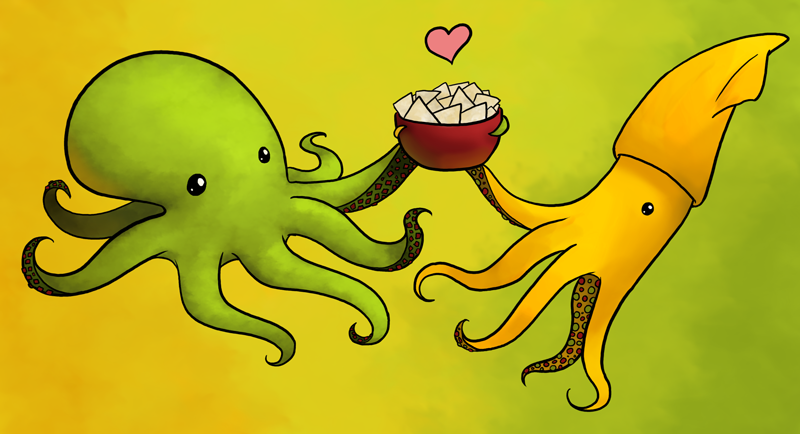 Guactopus and Quesquid