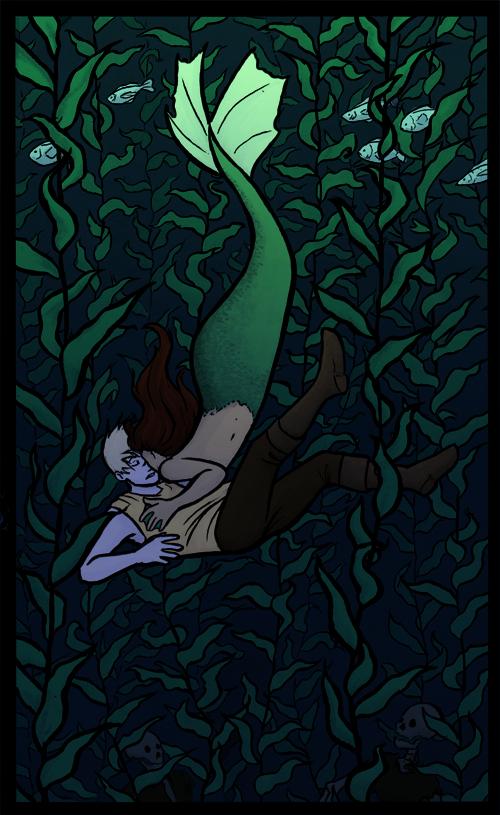 Mermaid and Sailors